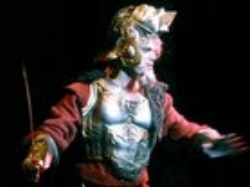 As Don Quixote in  Man of La Mancha