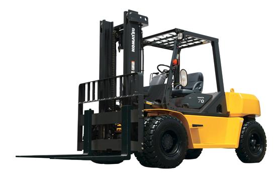 Komatsu Forklift DX50