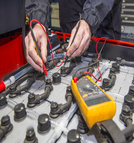 Forklift Charger Maintenance Program