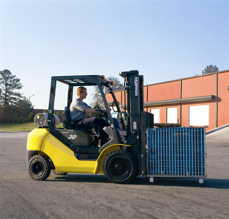 When is Your Komatsu Forklift Ready to Retire? — WAYCO