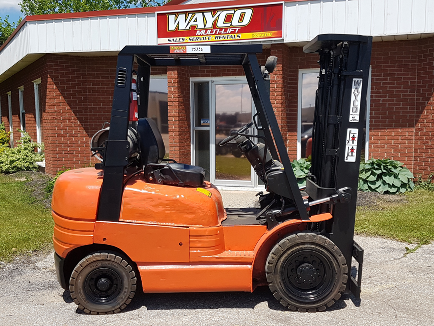 Pre-Owned Used Cushion Forklift Toyota