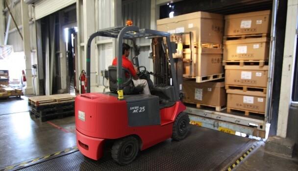 forklift load capacity