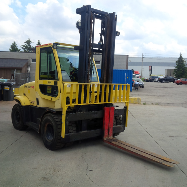 Used Pneumatic Forklift Hyster