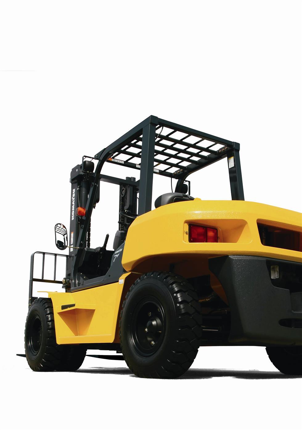 Diesel Pneumatic Forklift