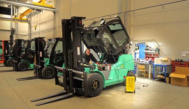 forklift inspections