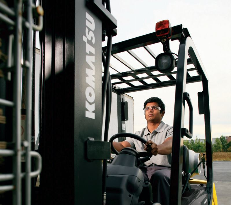 Pneumatic Cushion Forklift