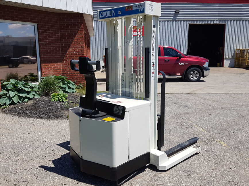 Pre-Owned Used Electric Walkie Stacker