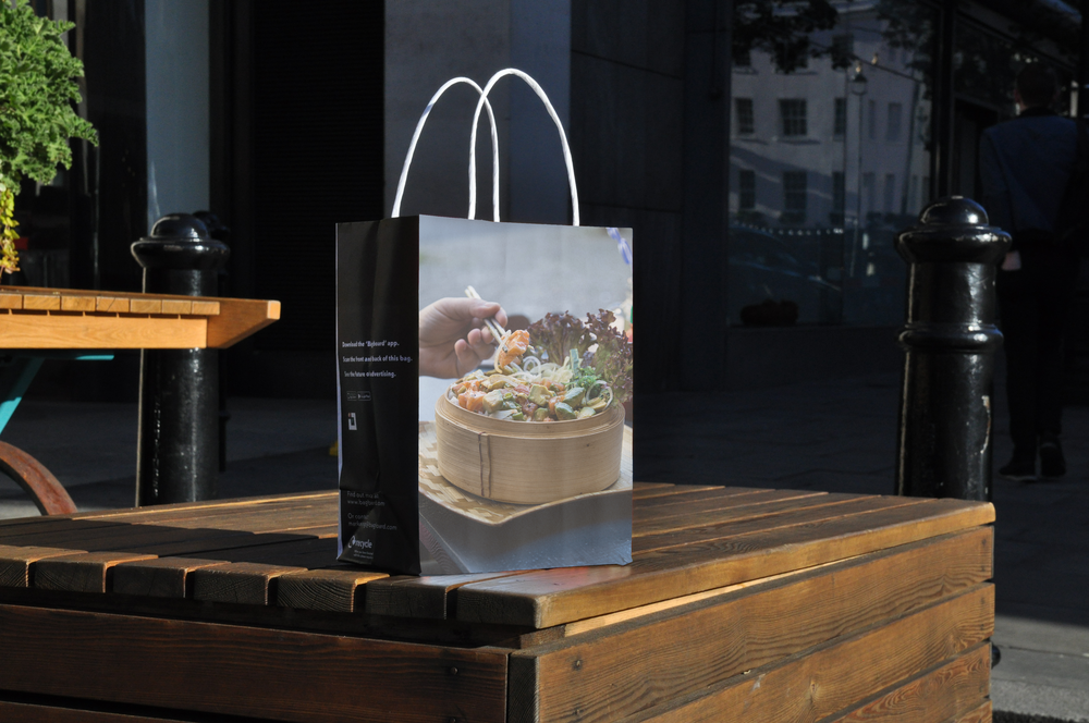 A platform for positive change - Every time a Bagboard bag goes into a consumer's hand, a single-use plastic bag is saved. We're working towards a better world. And every time you run a campaign with us, you'll be working towards it too.