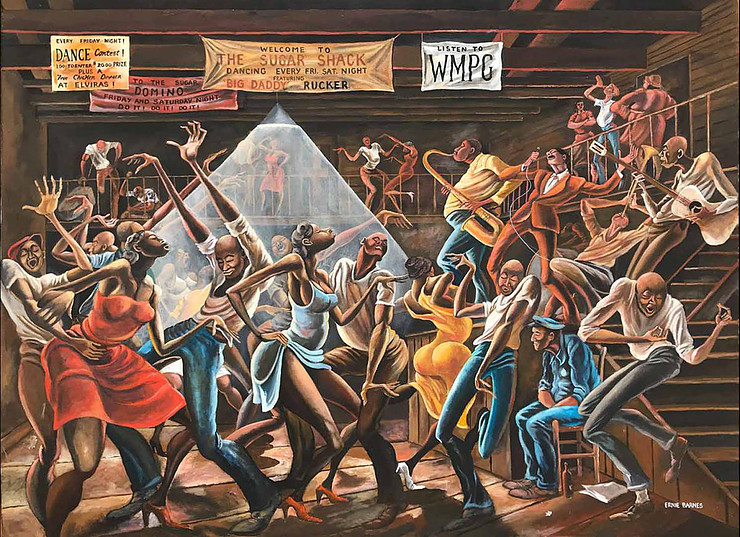Credit: The Sugar Shack. Copyright © Ernie Barnes Family Trust