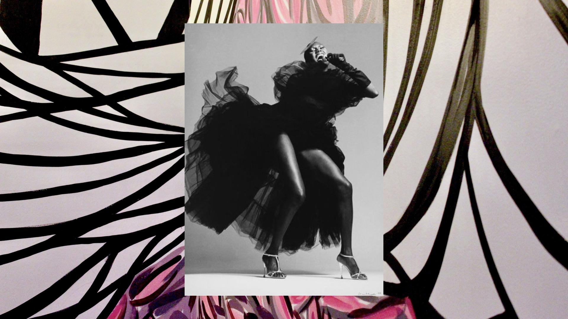 Grace Jones by Francesco Scavullo