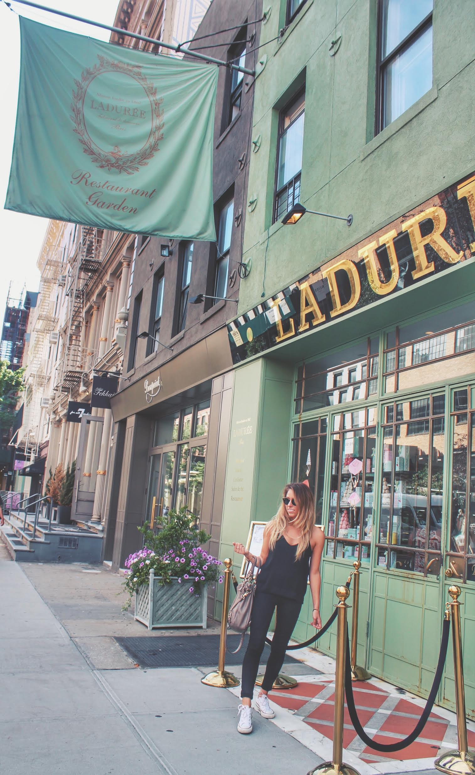 A Taste of Paris in NYC: Ladurèe Soho