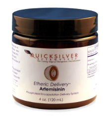 Quicksilver Artemisinin with etheric delivery; watch out parasites!