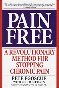 I can't recommend this book highly enough! It has exercises for each area of the body that's hurting.