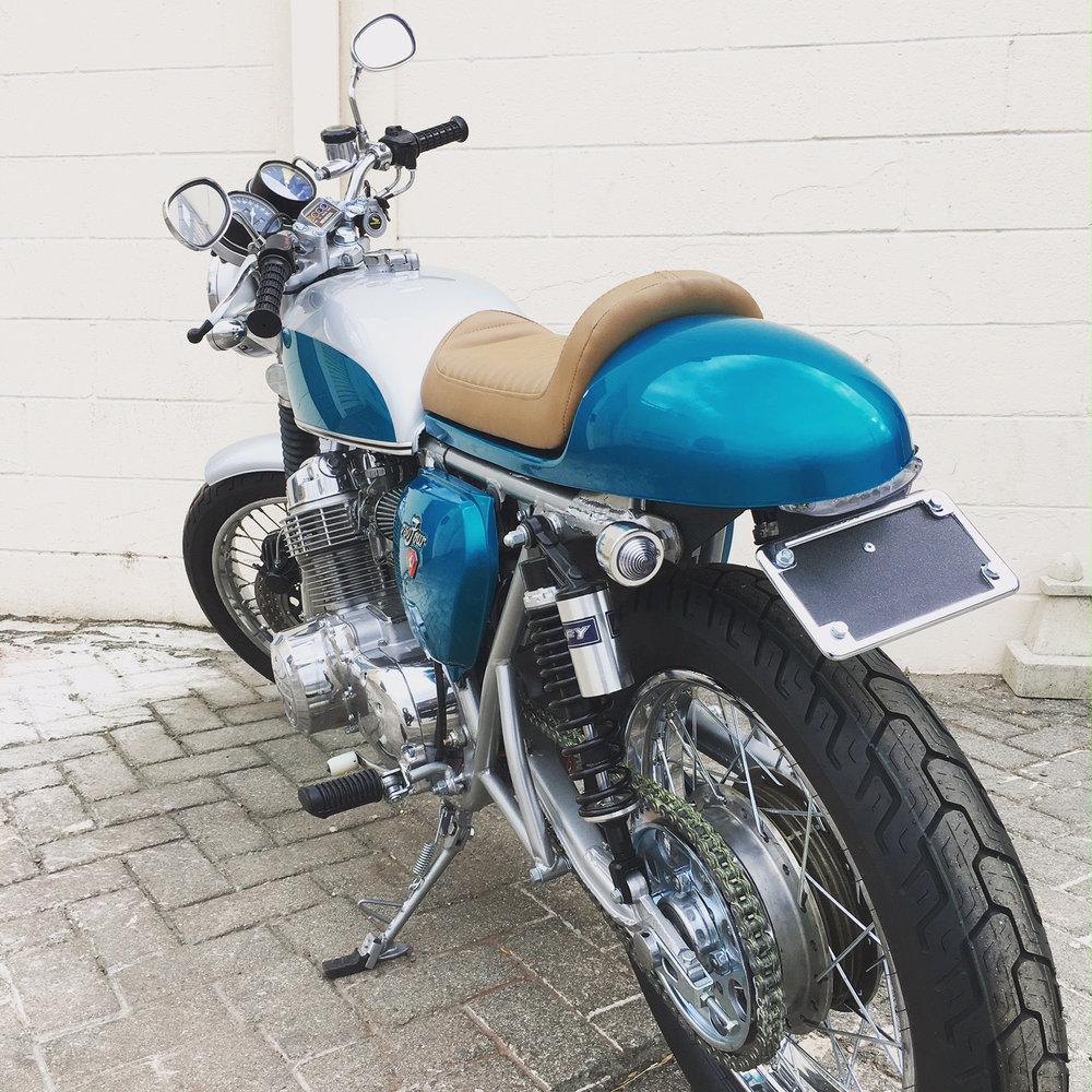 (Rear) 1972 CafeRacer Honda CB750.jpg