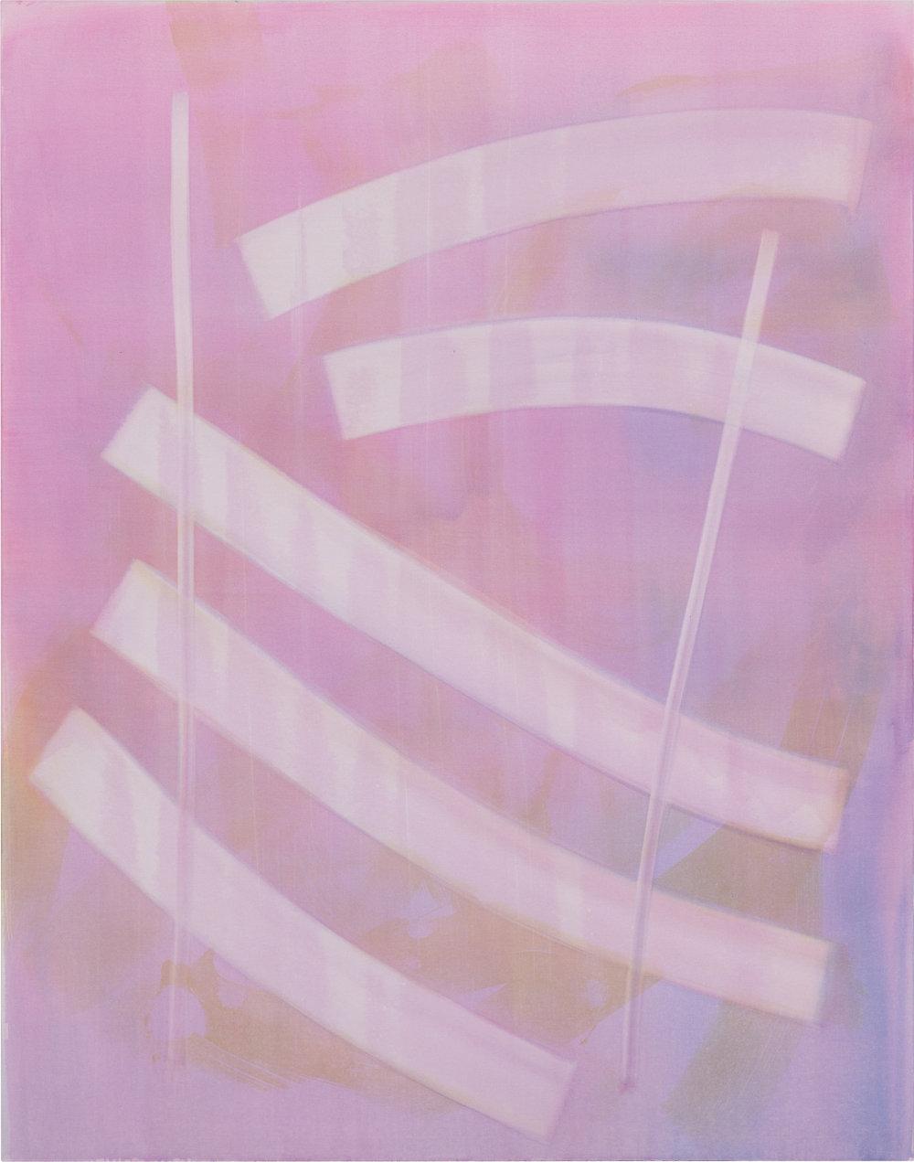 Ohne Titel [17306] | 2017 | Organic Preparation of Pigments on Canvas | 190 x 150 cm | ©Felix Büchel, Courtesy GALERIE ALBER