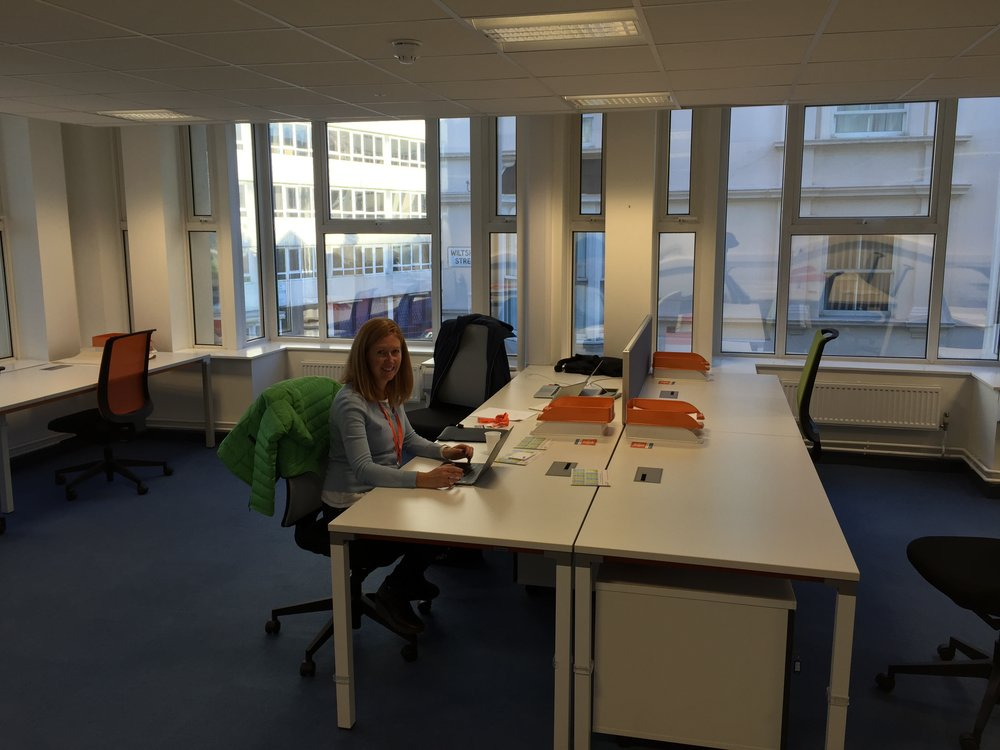 Our first UK office - Portsmouth, 2015