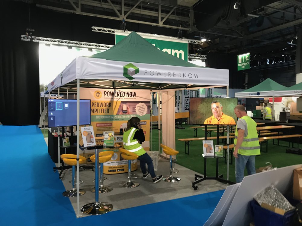 Our stand at Installer 2017