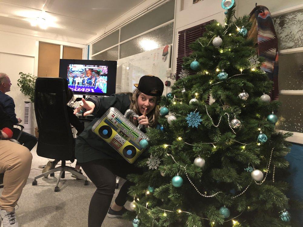 Christmas 2017, Chloe P