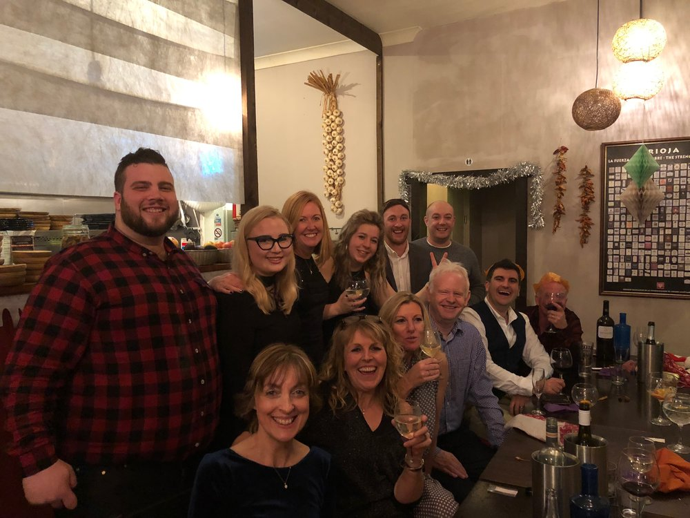 UK team Christmas Party, 2017