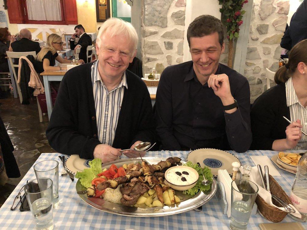Chris & Zoltan, Budapest 2017