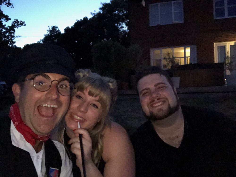 1940s party, UK 2018