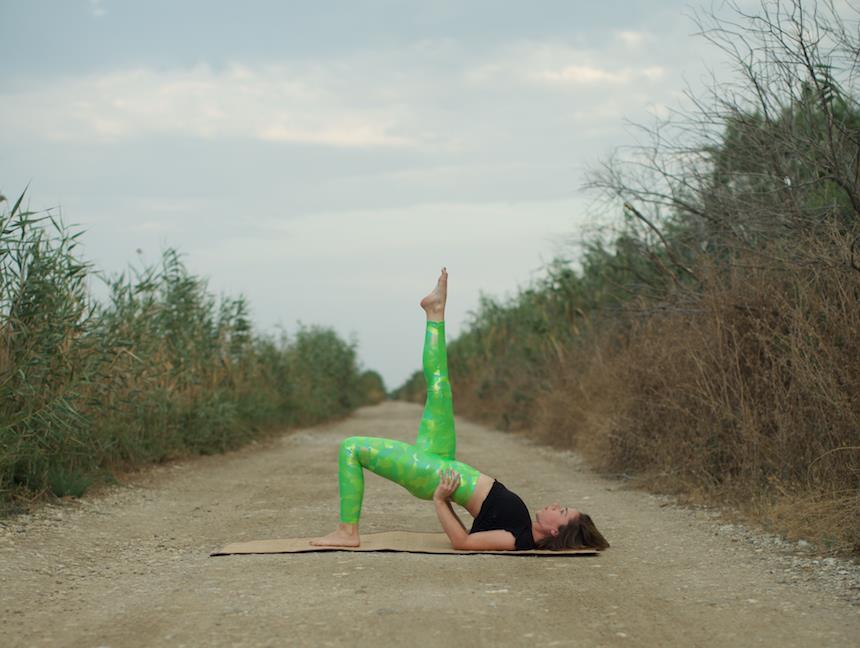 Επαγγελματική φωτογράφιση για yoga/pilates instructors