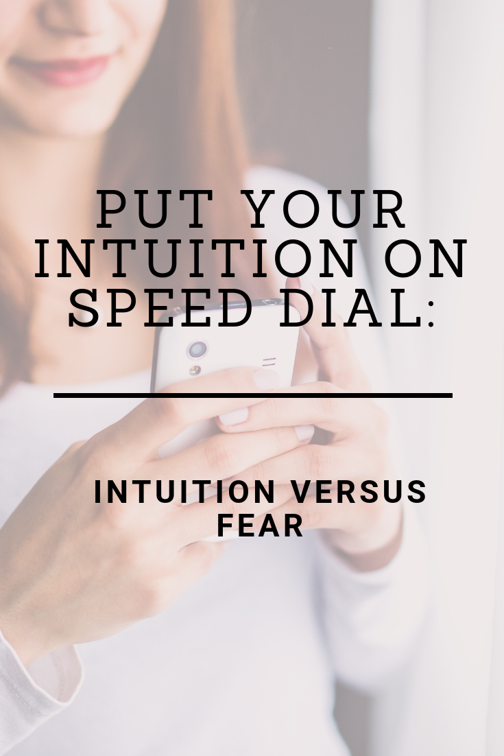 Put your intuition on speed dial