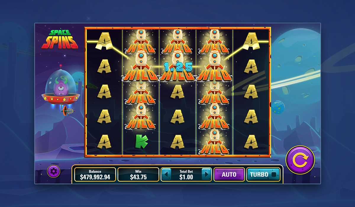 Space Spins slot Electric Elephant