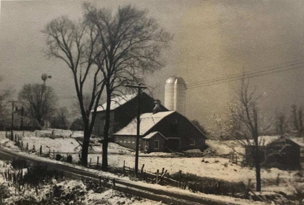 Greig Farm, 1959
