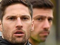 First Team Ian & Duncan Richards