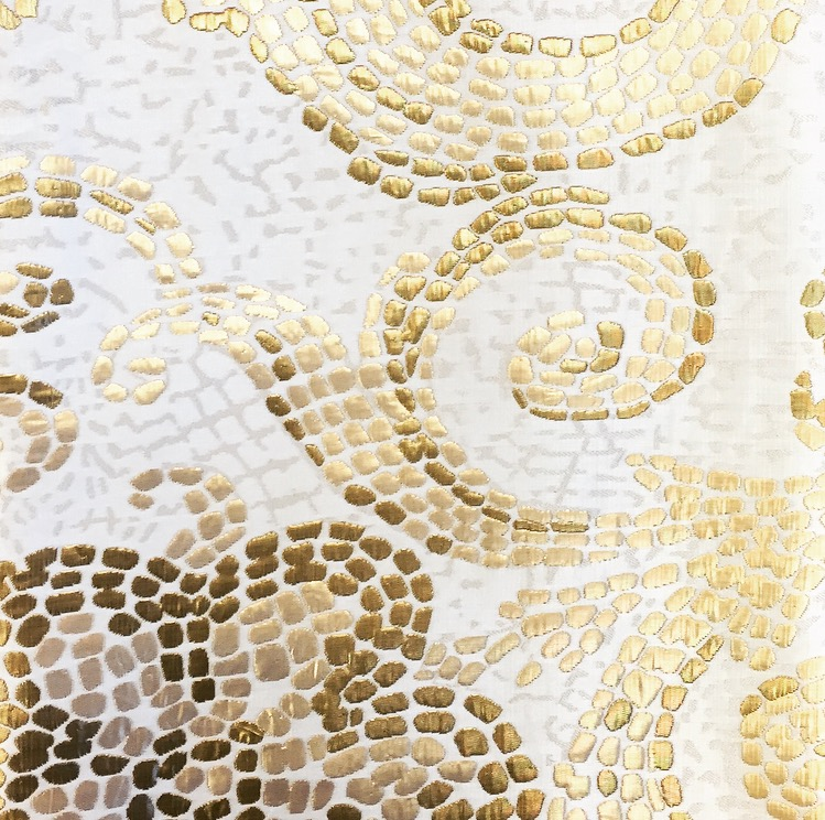 White Gold Mosaic