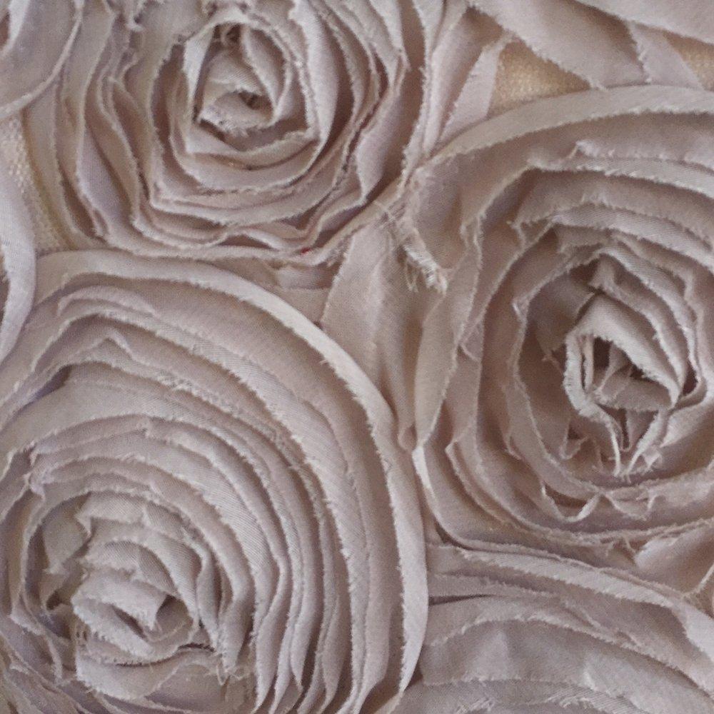 Blush Rosette Tulle
