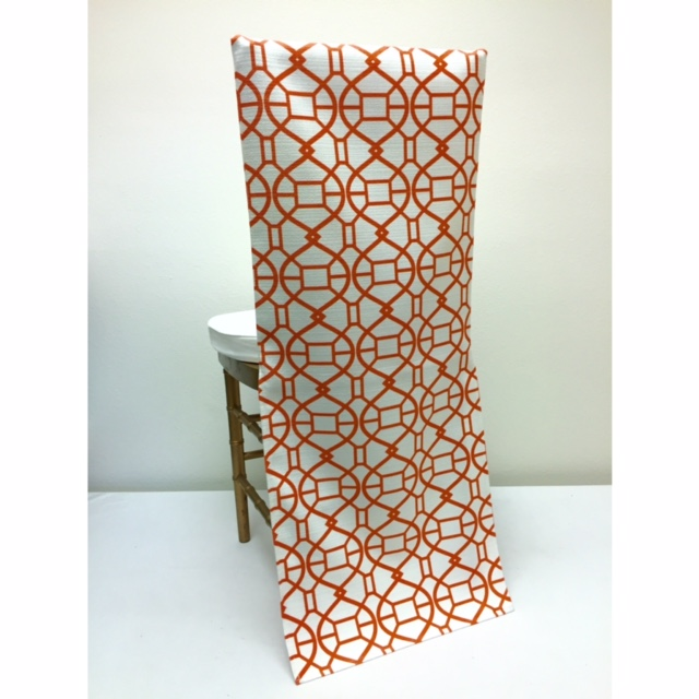 Orange Metropolis Chair Back