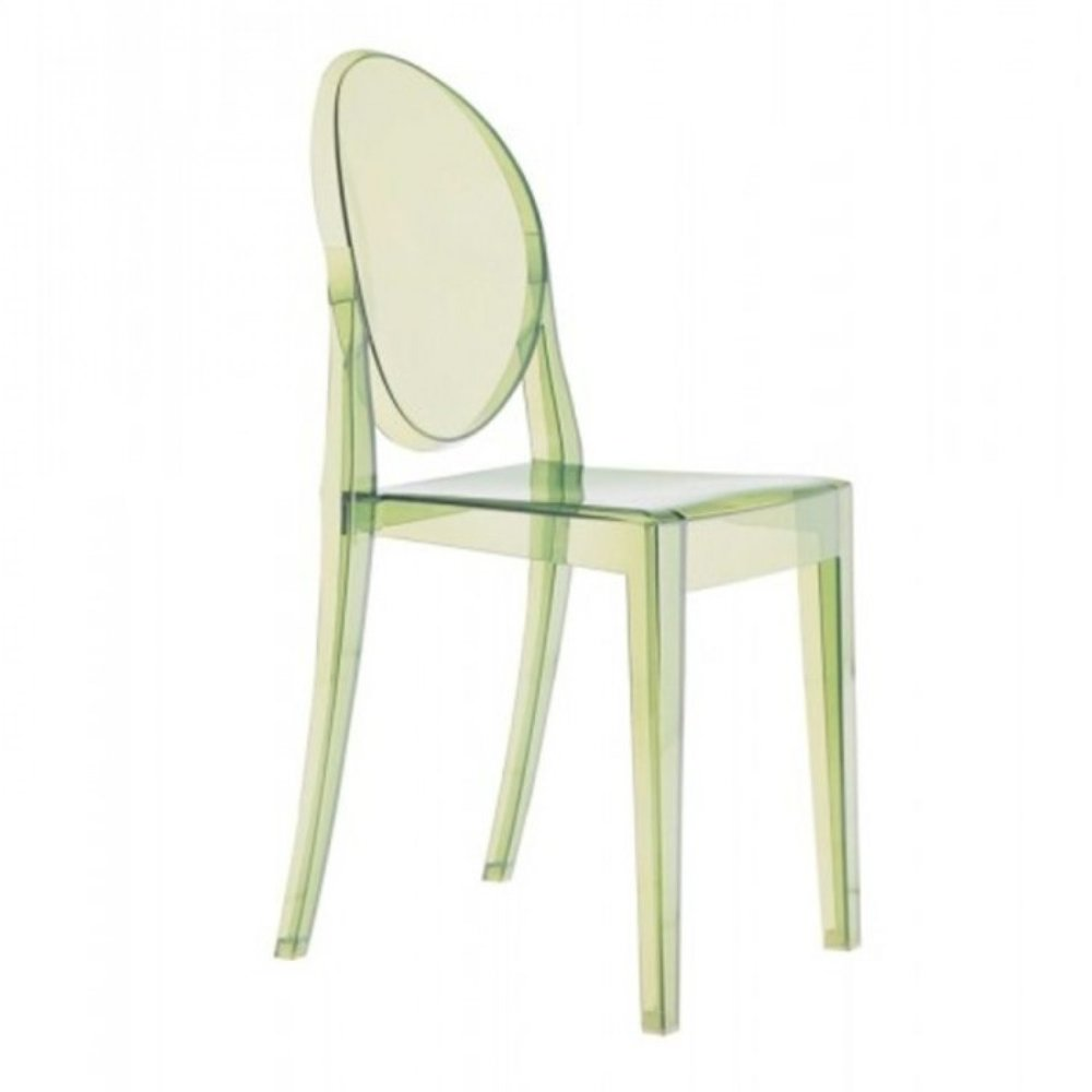 Green Kartell Victoria Ghost Chair