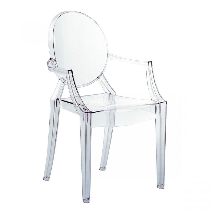 Clear Kartell Louis Ghost Chair