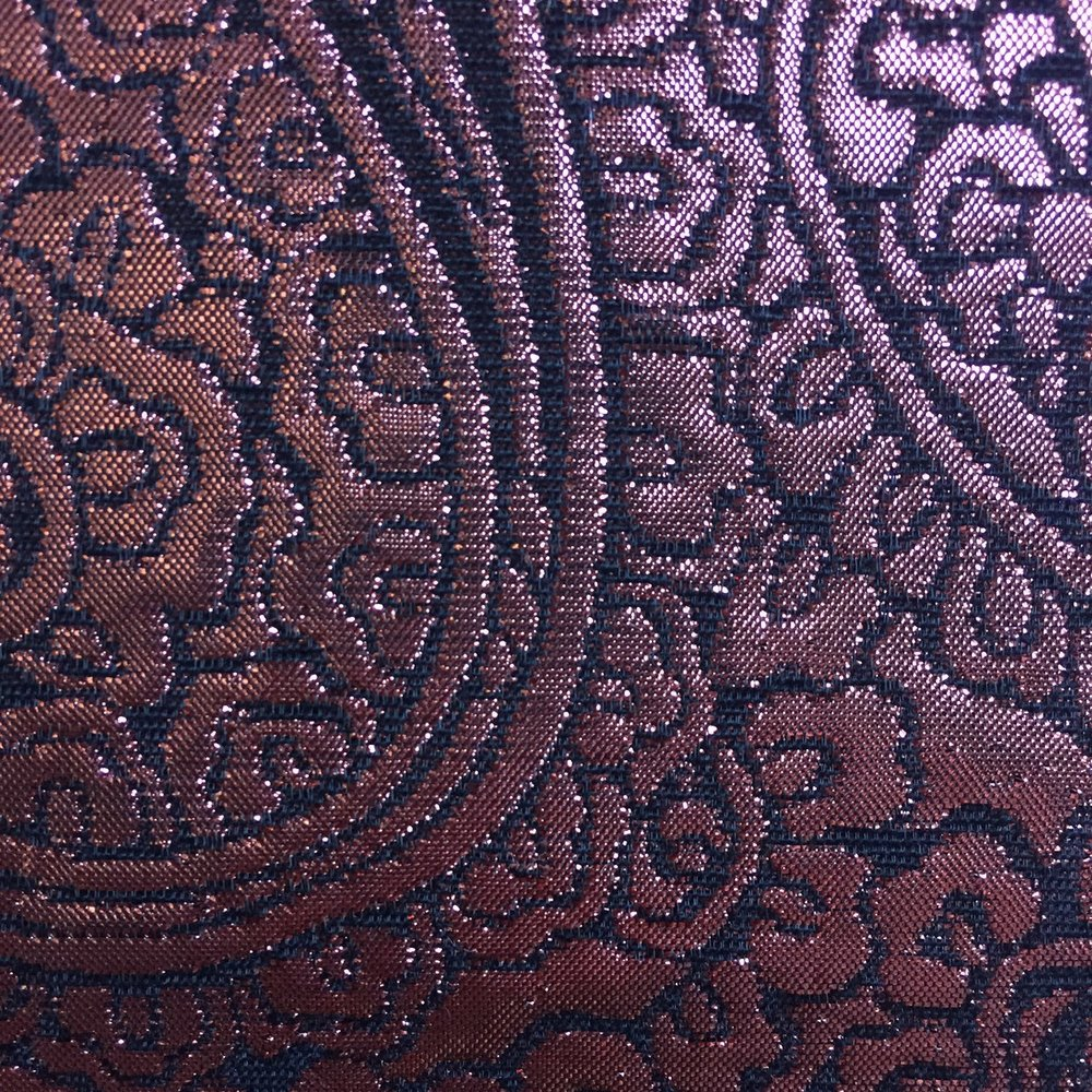 Copper Paisley