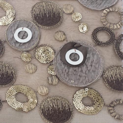 Champagne Circle Confetti