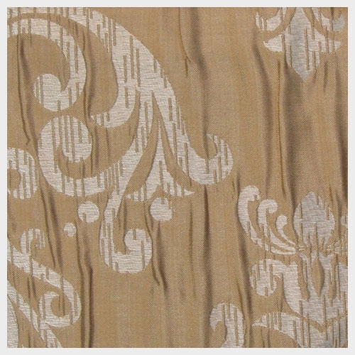 Taupe Crushed Damask