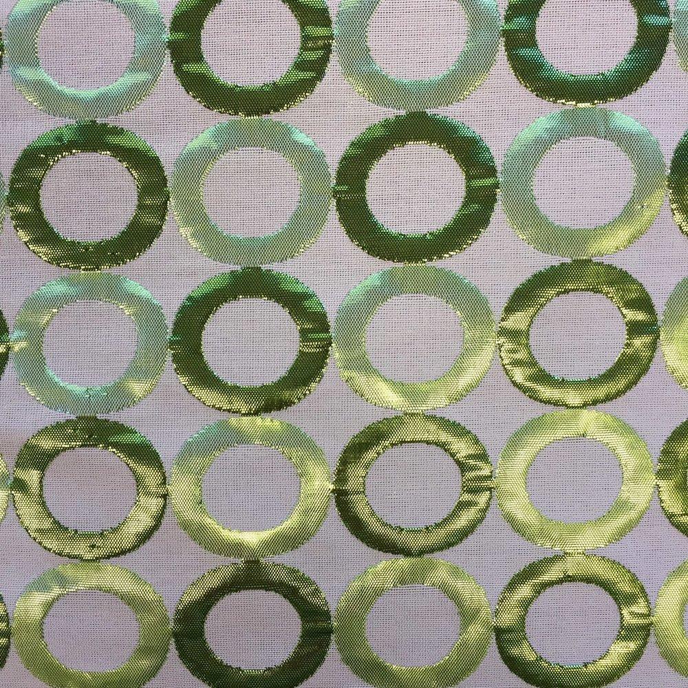 Green Metallic Ring