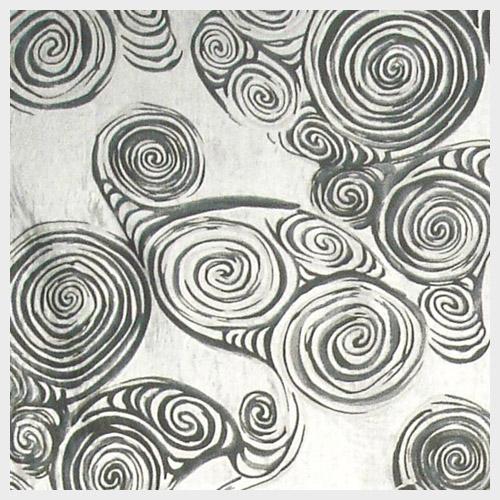 Black Swirl Velvet