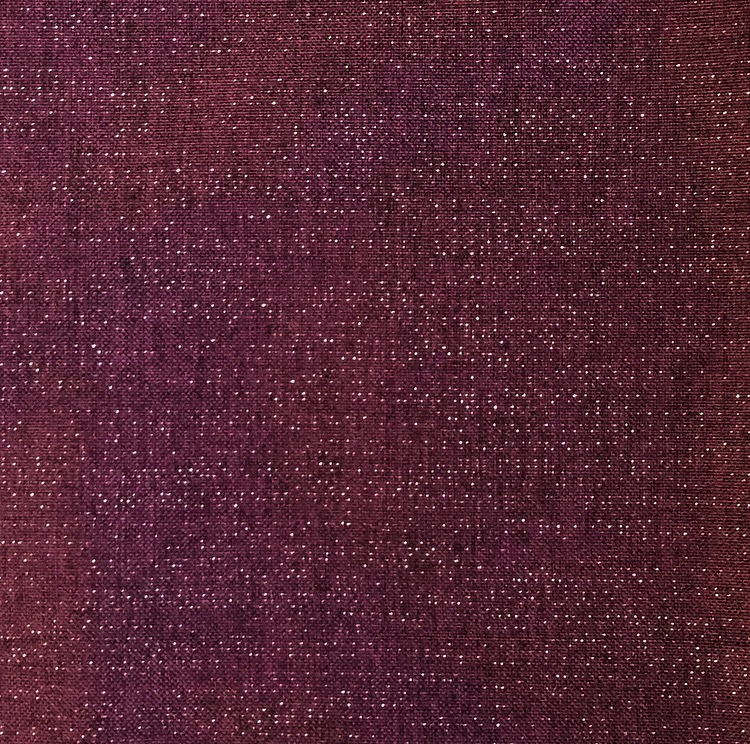 Purple Metallic Linen