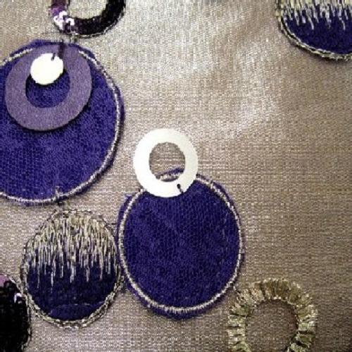 Aubergine Circle Confetti
