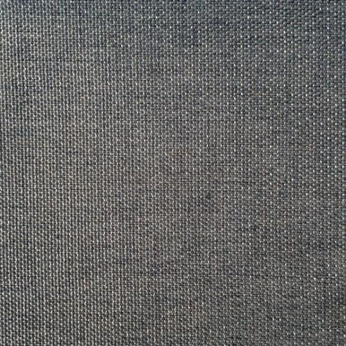 Charcoal Metallic Linen