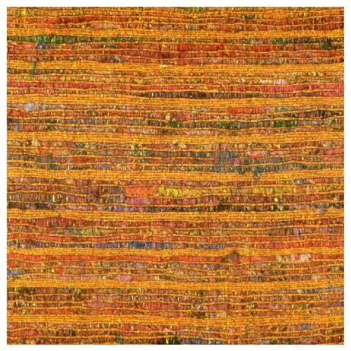 Saffron Metallic Weave