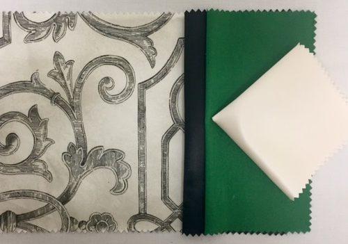 Garden Gate | Black Nu Silk | Emerald Nu Silk | White Nu Silk