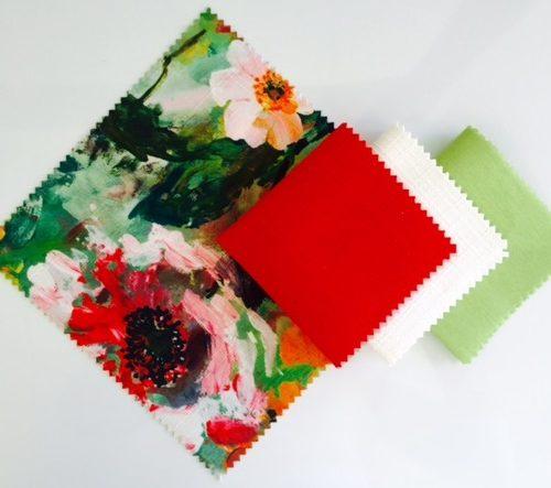 Monet | Atomic Textured Linen | White Textured Linen | Lemongrass Nu Silk