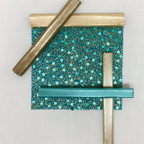 Teal Gold Sequin Mesh | Tropic Nu Silk | Buff Metallic Nu Silk |Bronze Metallic Nu Silk | Champagne Metallic Nu Silk |Jade Metallic Nu Silk
