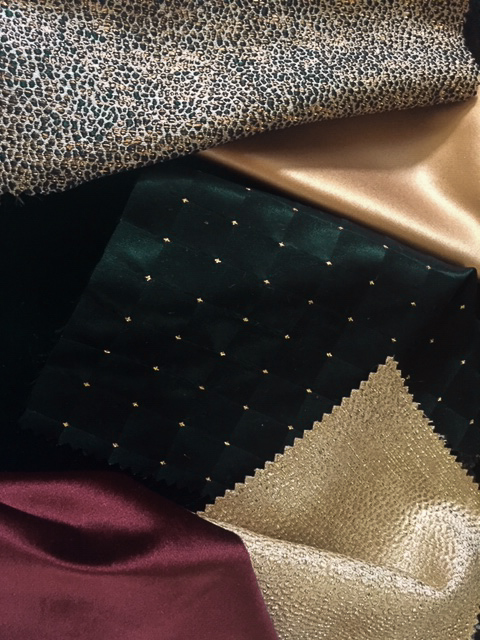 2019 Oscars® Governors Ball - Rich Textures, Sleek Satins, Royal Velvets and Beautiful Black Deco Dot. Click here to get a behind the scenes look into the Oscars® After Party.
