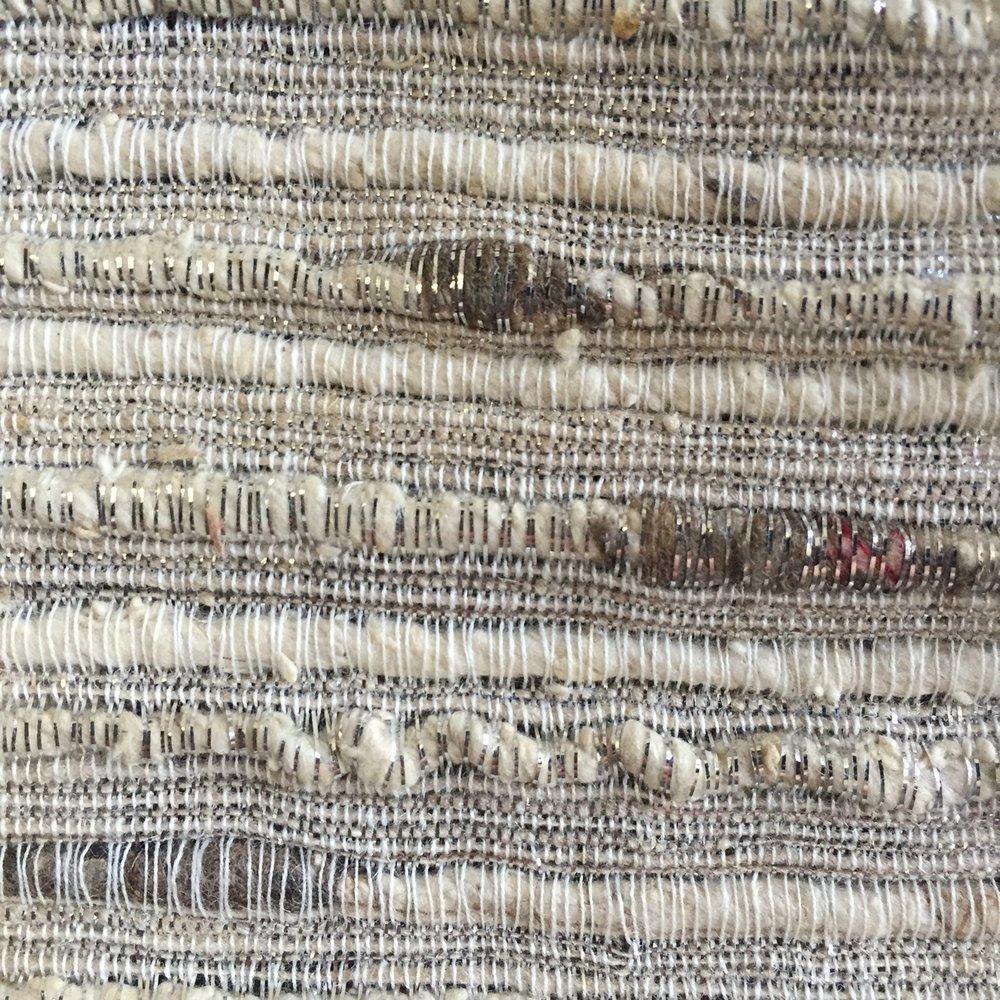 Natural Metallic Weave