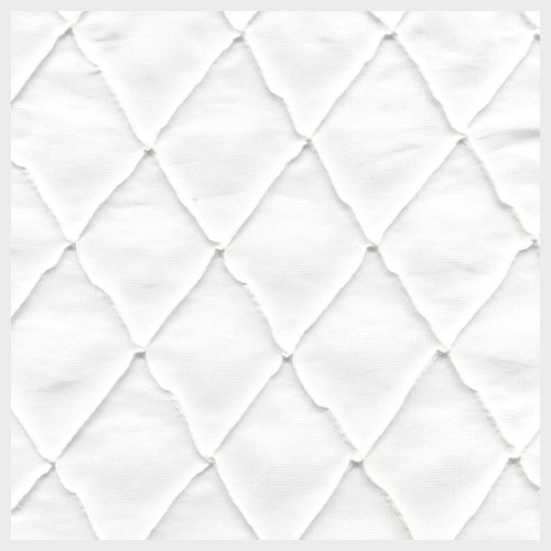 White Pintuck Taffeta